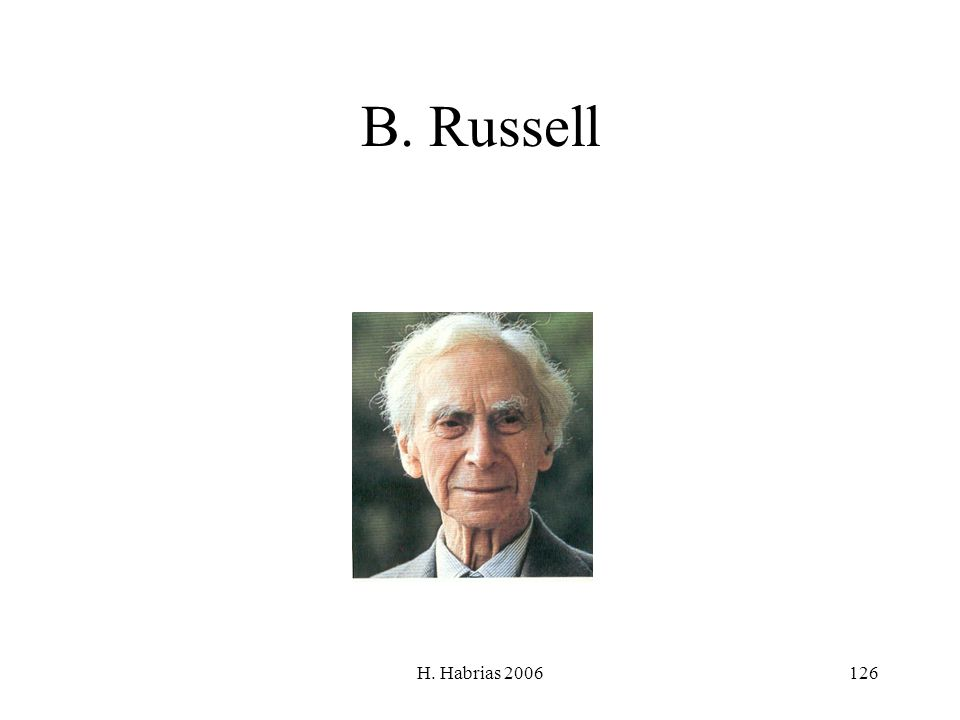 B. Russell H. Habrias 2006