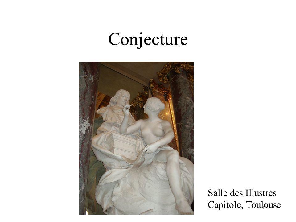 Conjecture Salle des Illustres Capitole, Toulouse H. Habrias 2006