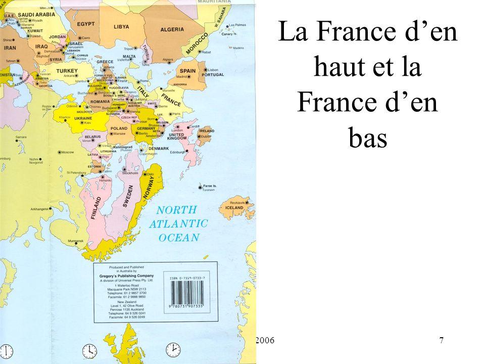 La France d'en haut et la France d'en bas