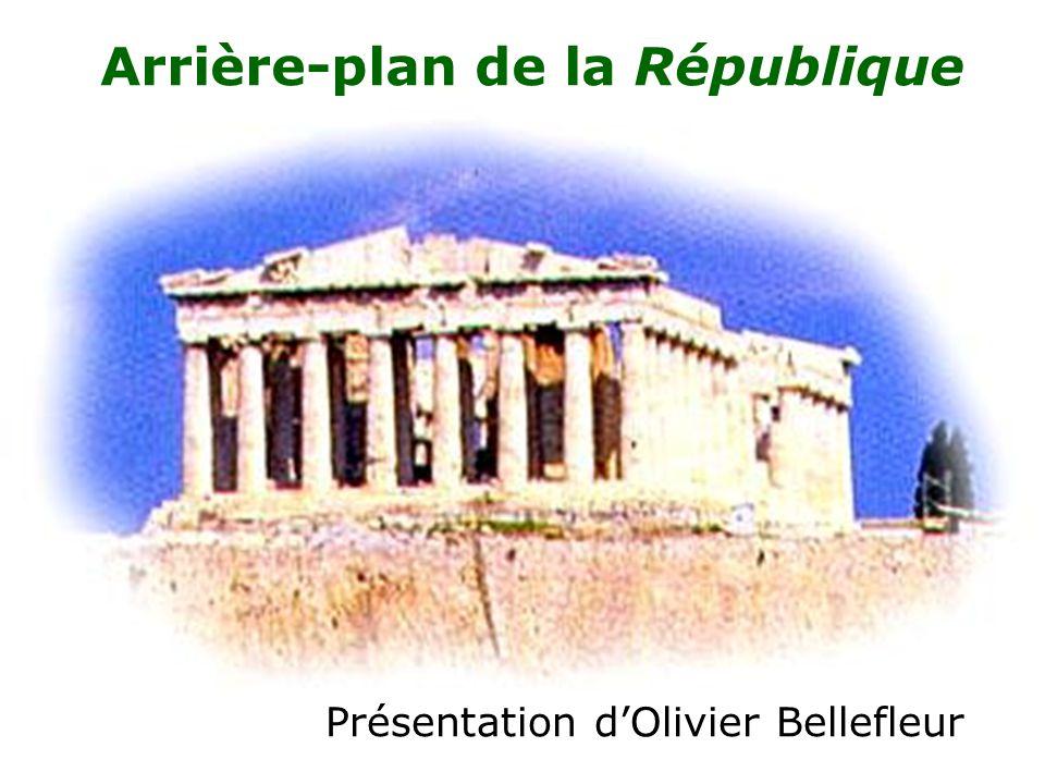Arrière-plan de la République