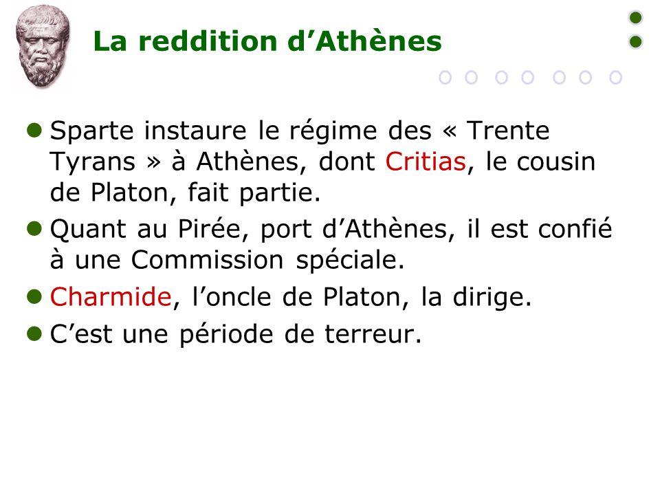 La reddition d'Athènes