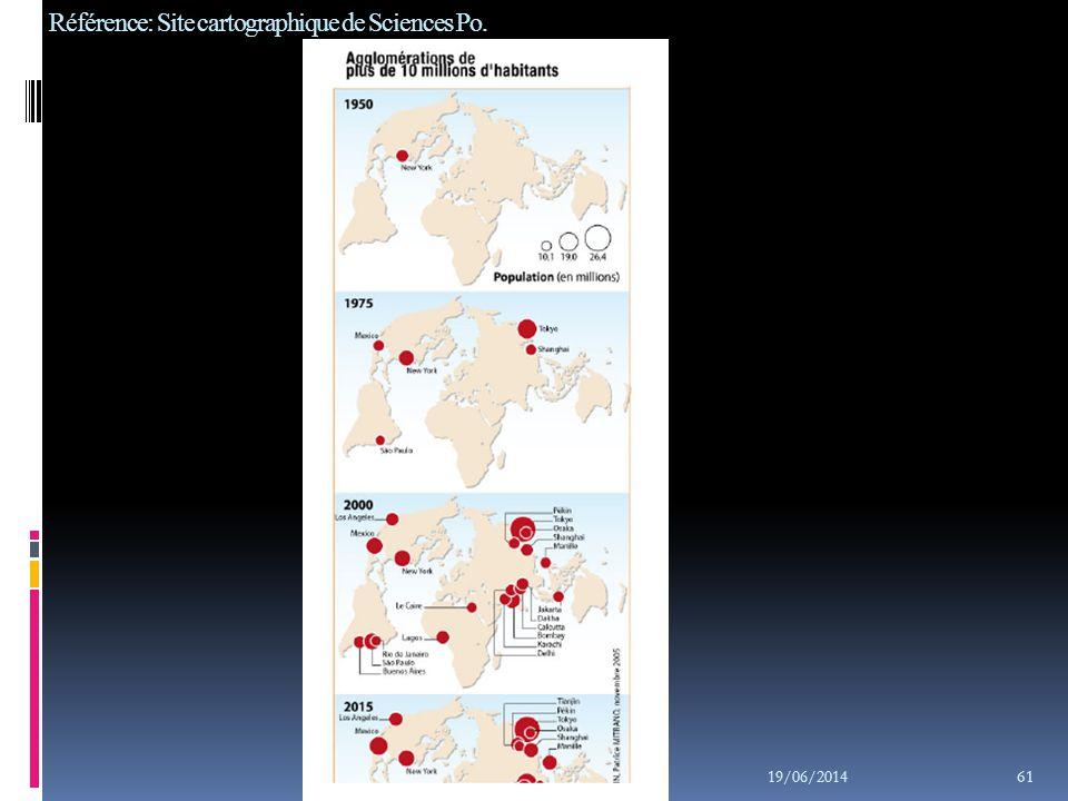 Référence: Site cartographique de Sciences Po.