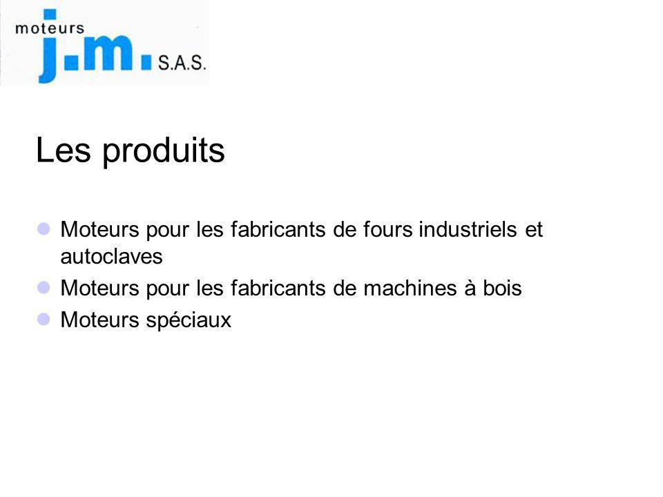 Les produits Moteurs pour les fabricants de fours industriels et autoclaves. Moteurs pour les fabricants de machines à bois.
