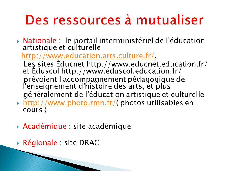 Des ressources à mutualiser