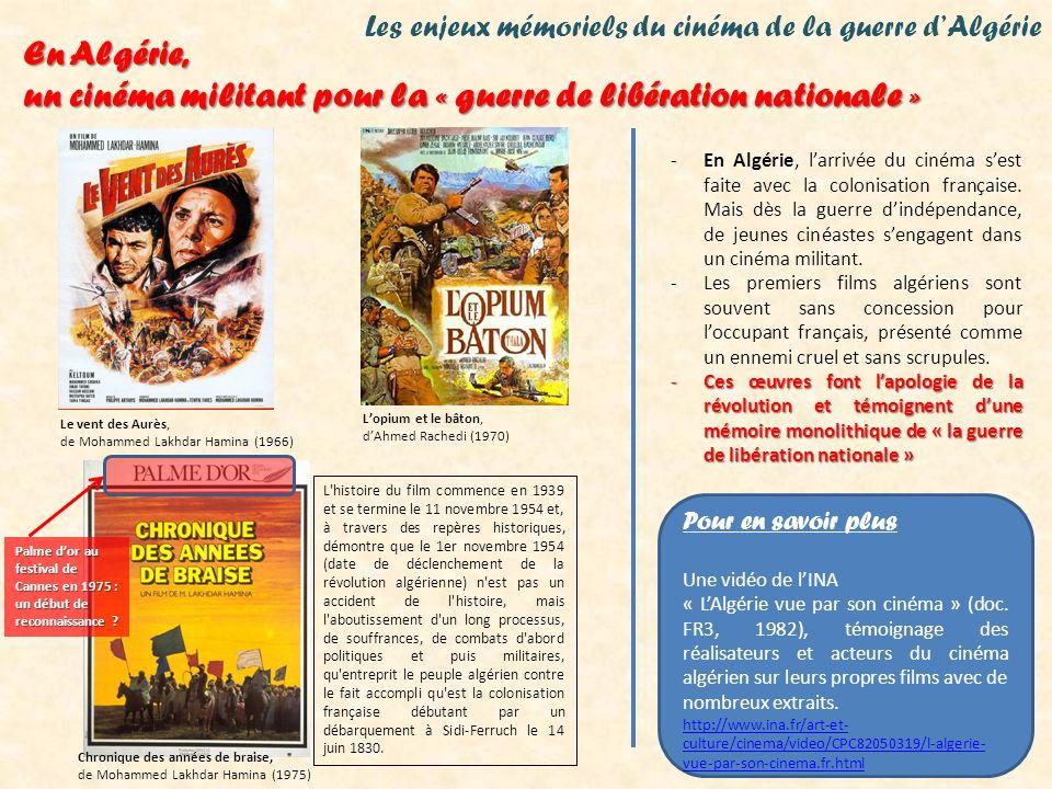 un cinéma militant pour la « guerre de libération nationale »