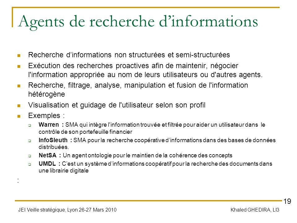 Agents de recherche d'informations