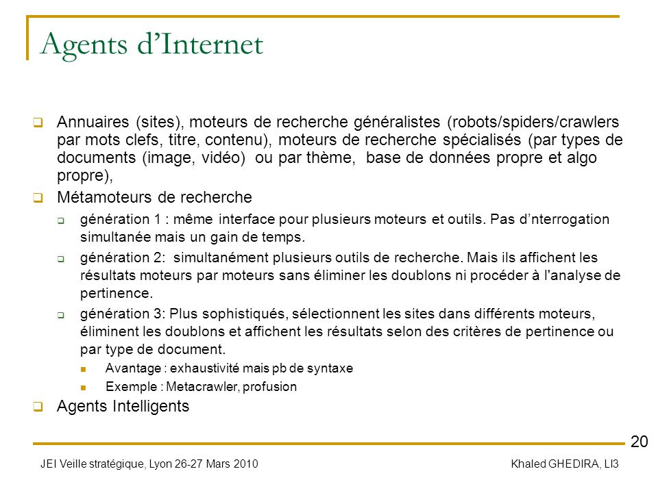 Agents d'Internet