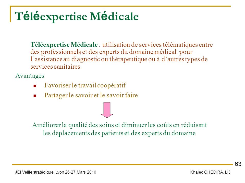 Téléexpertise Médicale