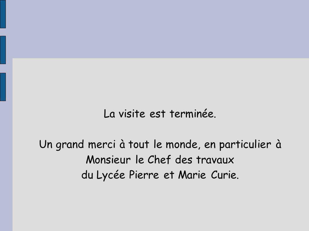 du Lycée Pierre et Marie Curie.