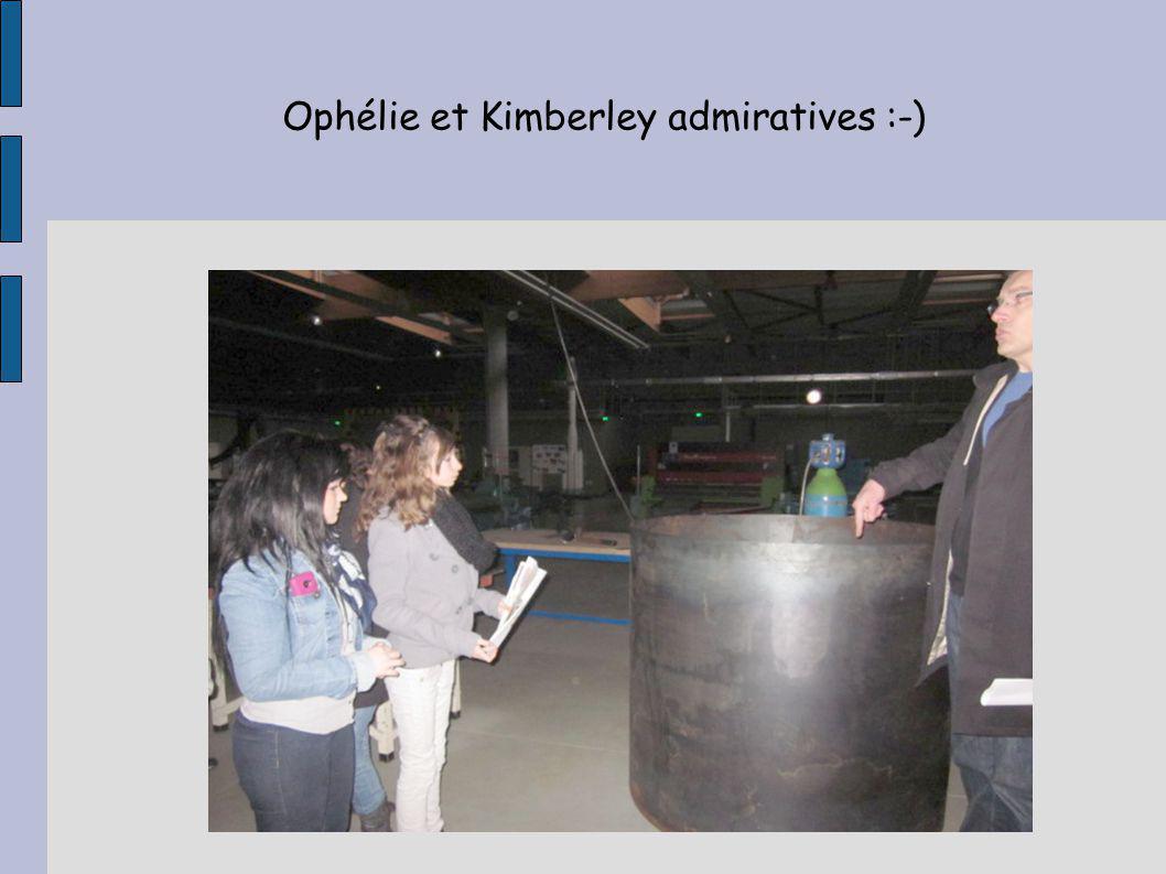 Ophélie et Kimberley admiratives :-)