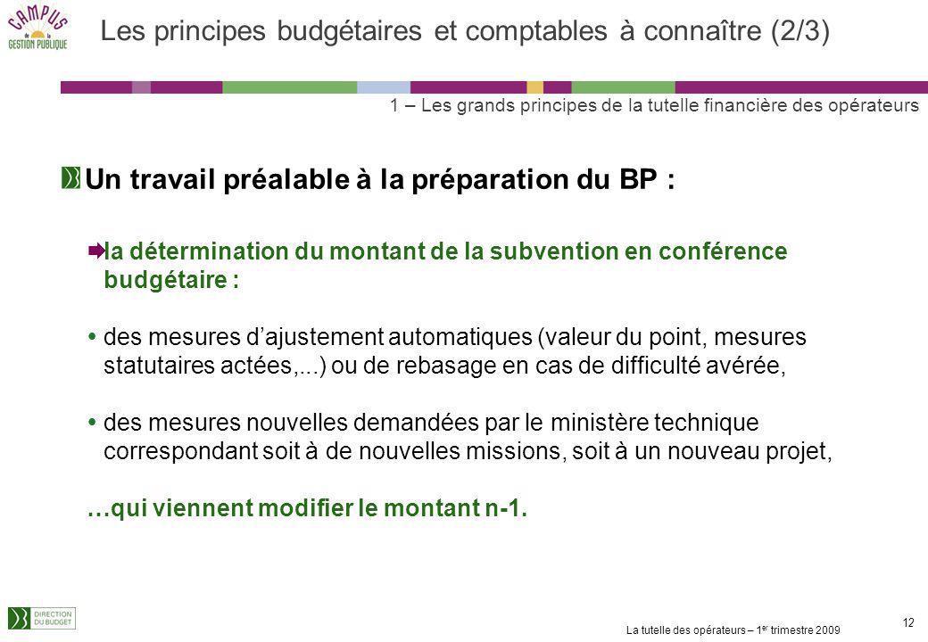 Les principes budgétaires et comptables à connaître (2/3)