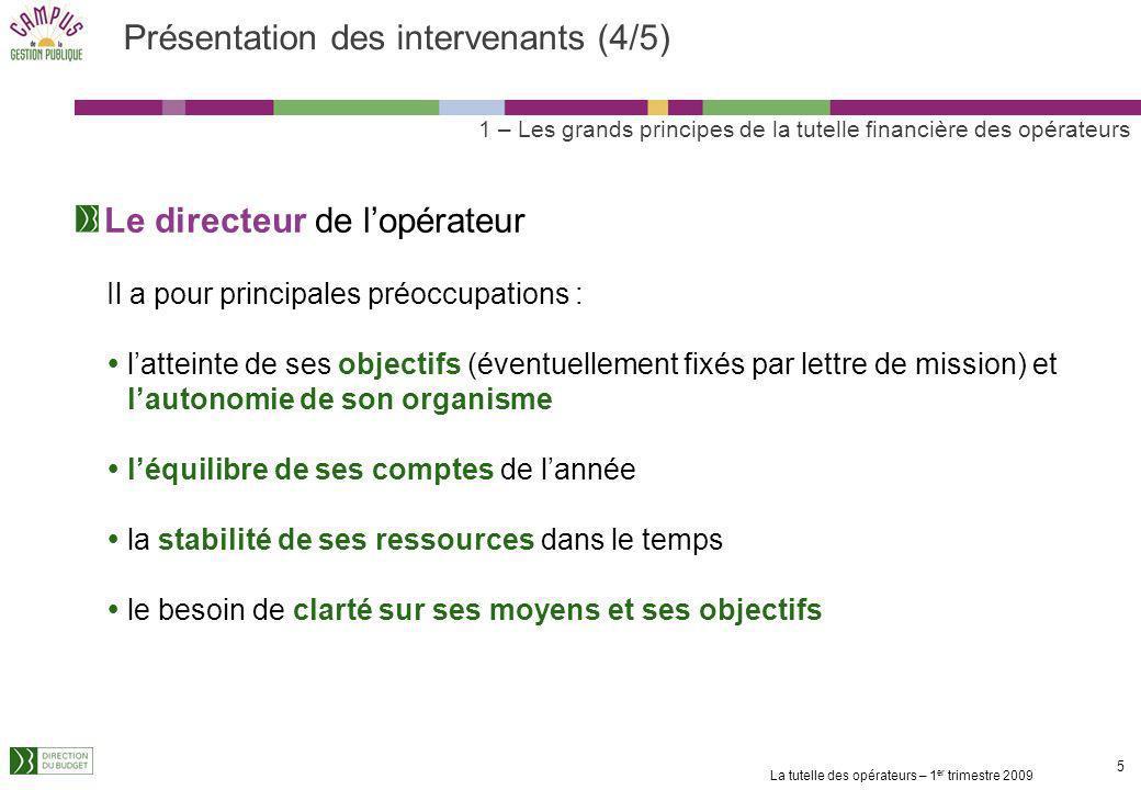 Présentation des intervenants (4/5)
