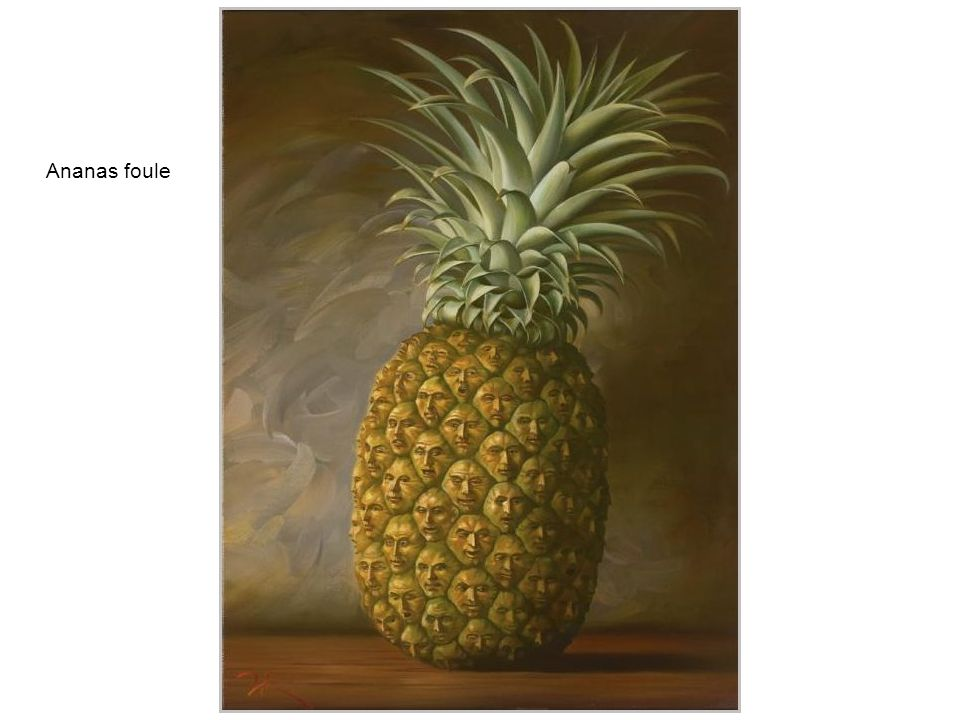 Ananas foule