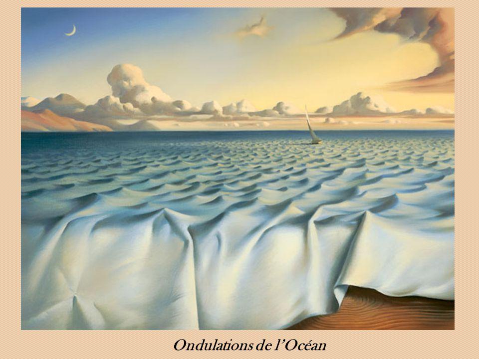 Ondulations de l'Océan