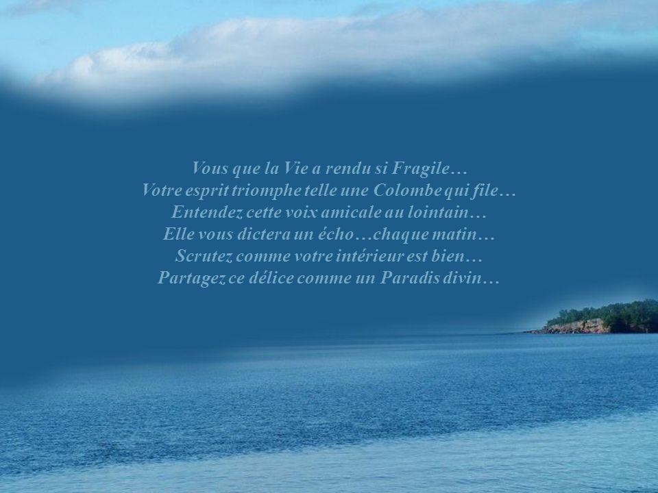 Vous que la Vie a rendu si Fragile…