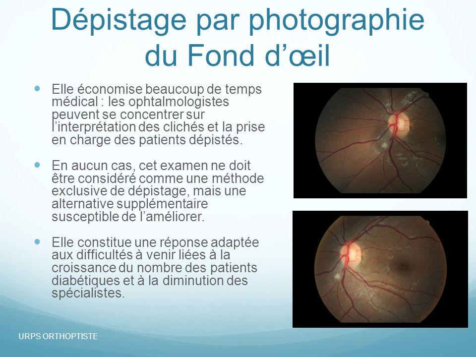 Dépistage par photographie du Fond d'œil