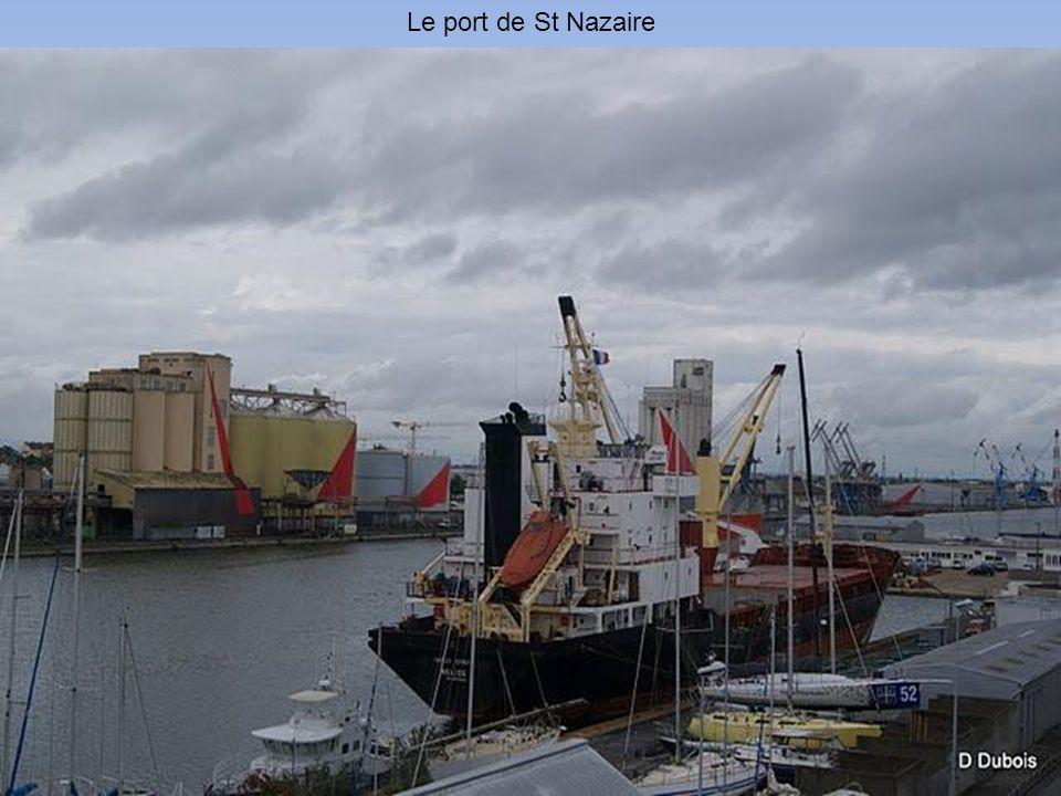 Le port de St Nazaire