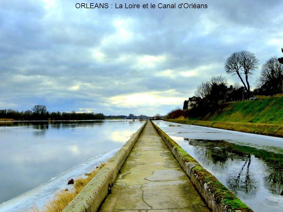 ORLEANS : La Loire et le Canal d Orléans