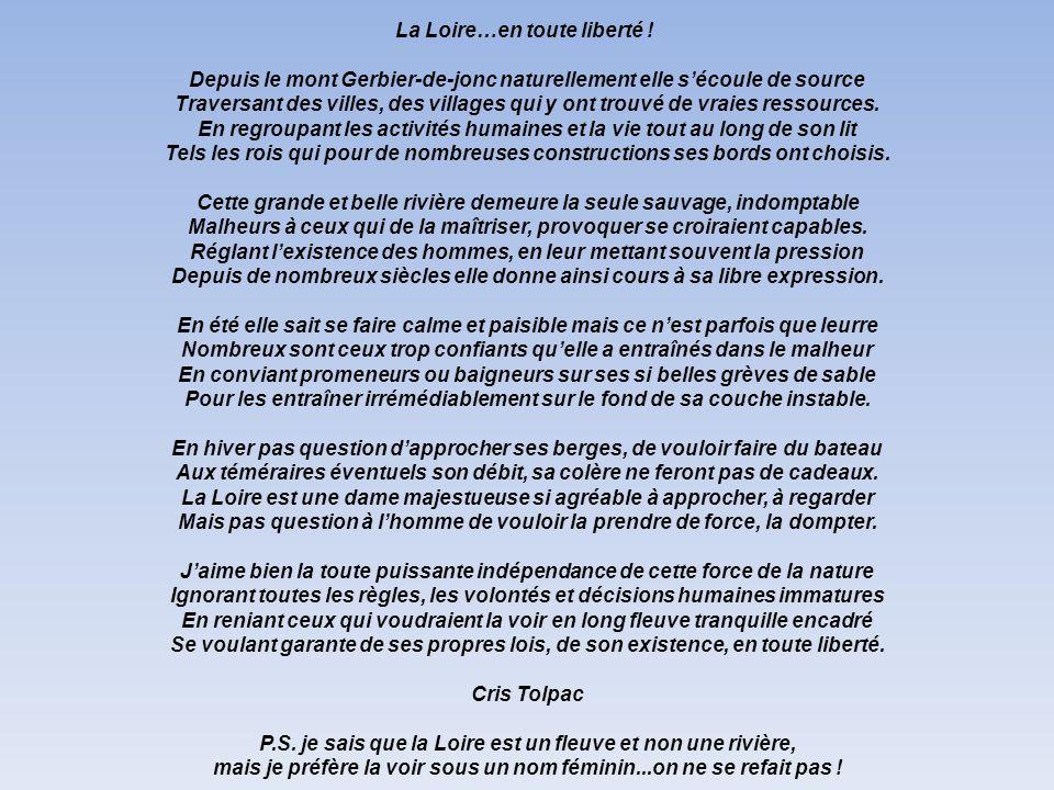 La Loire…en toute liberté