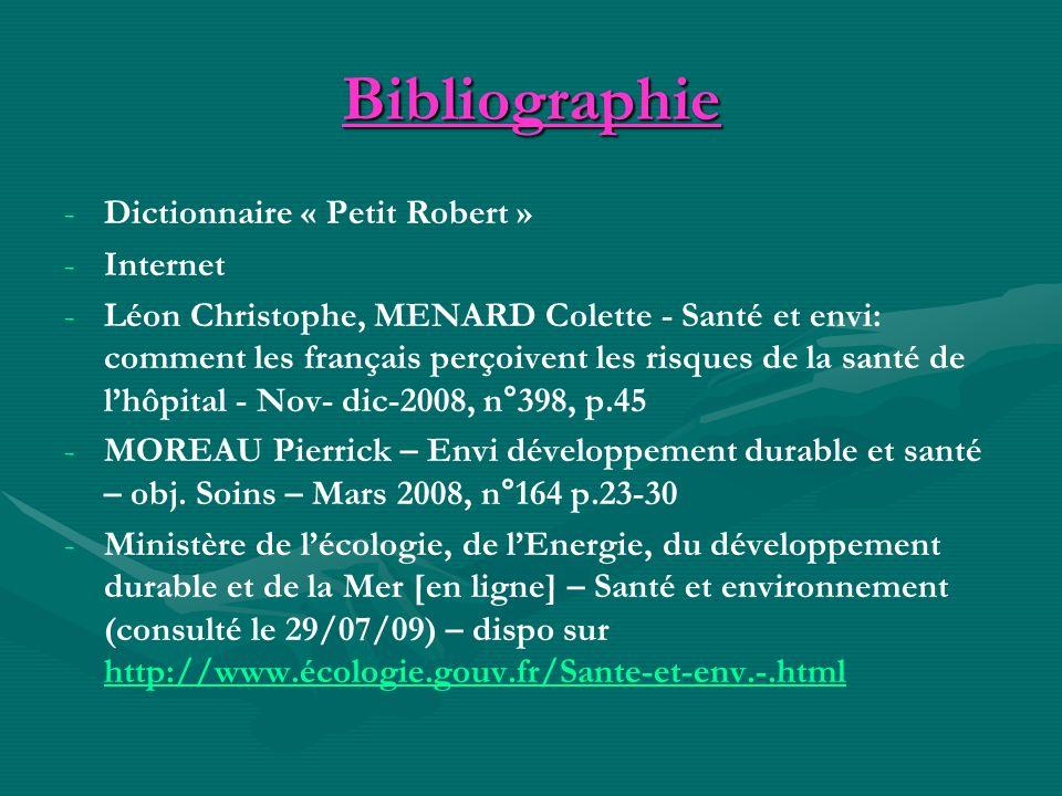 Bibliographie Dictionnaire « Petit Robert » Internet
