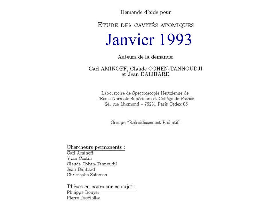 Janvier 1993