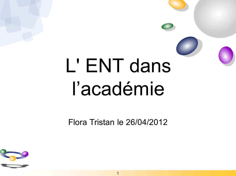 L ENT dans l'académie Flora Tristan le 26/04/2012 1