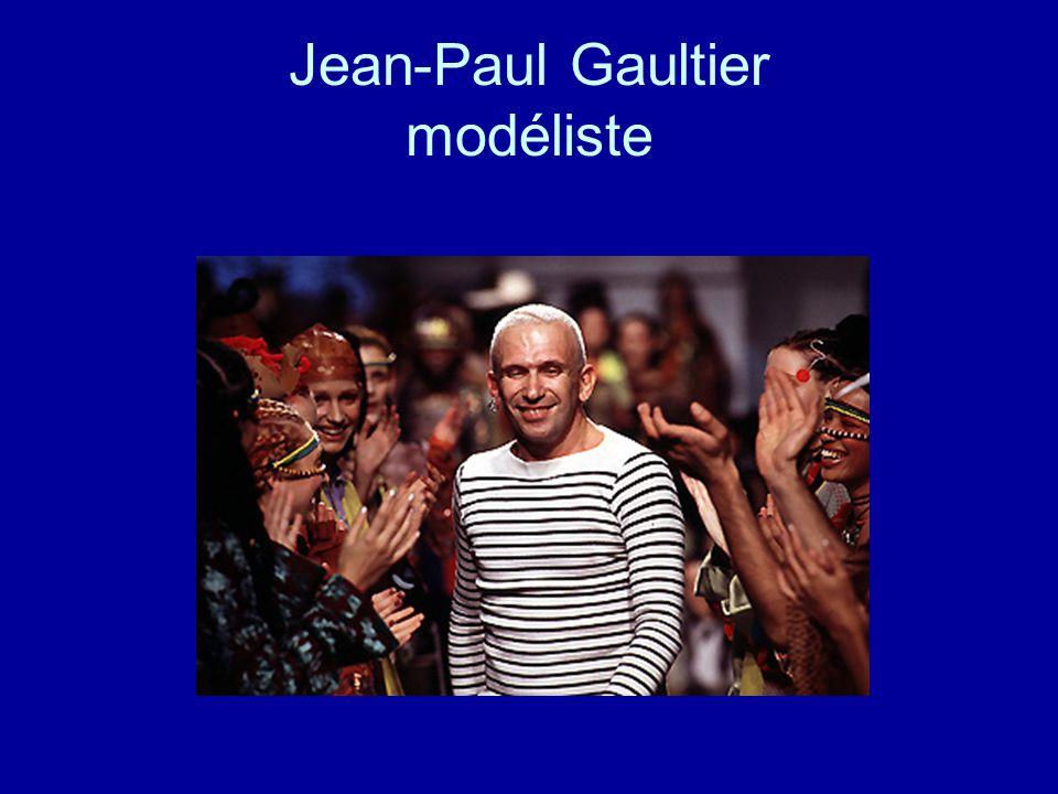 Jean-Paul Gaultier modéliste