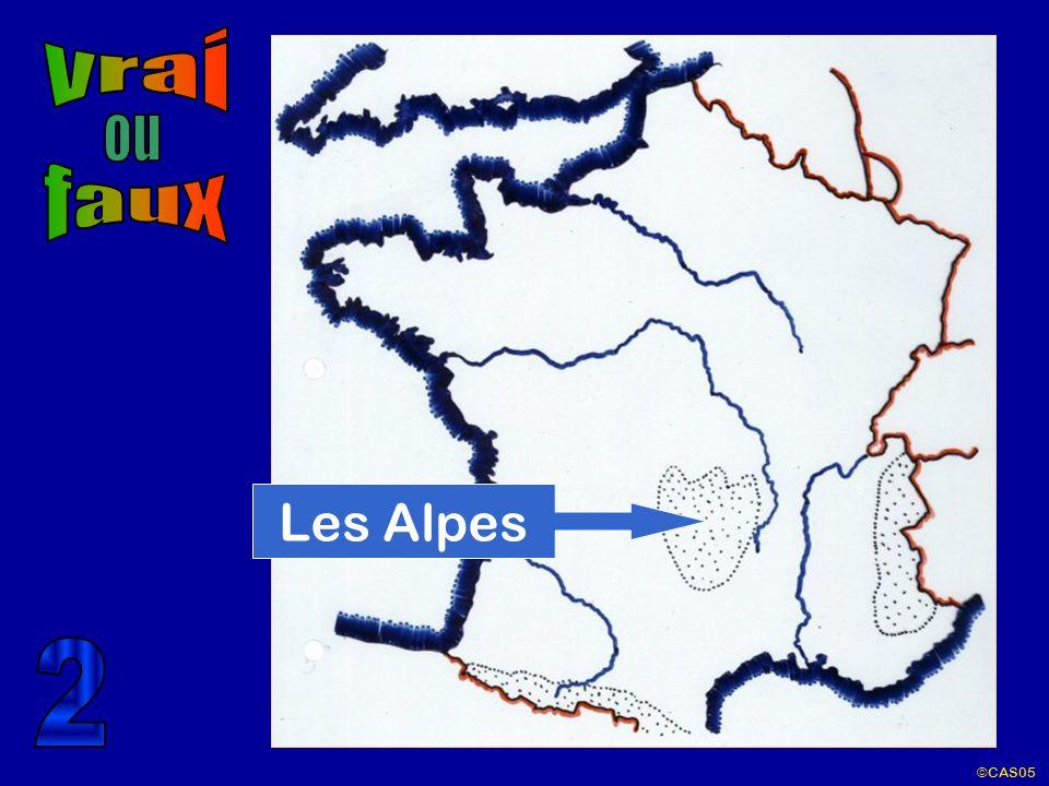 vrai ou faux Les Alpes 2 ©CAS05