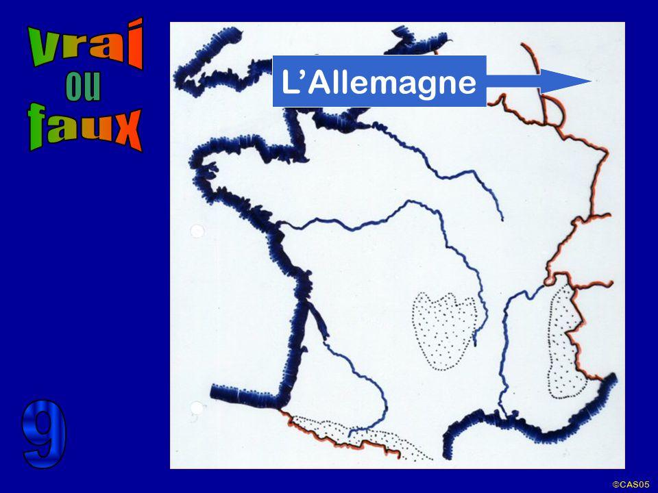 vrai L'Allemagne ou faux 9 ©CAS05