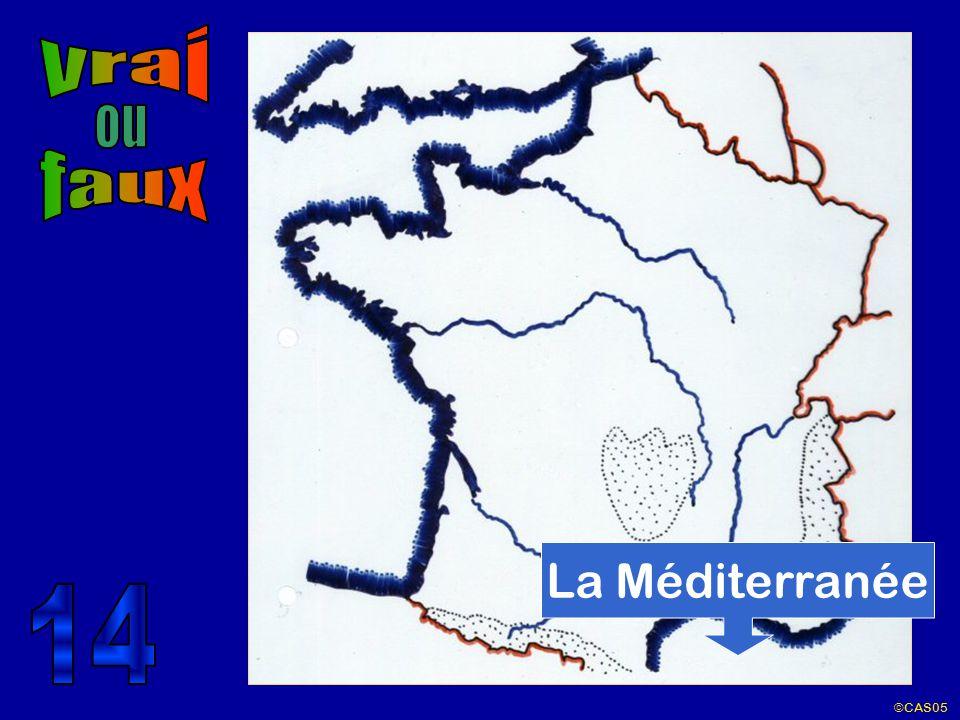 vrai ou faux La Méditerranée 14 ©CAS05