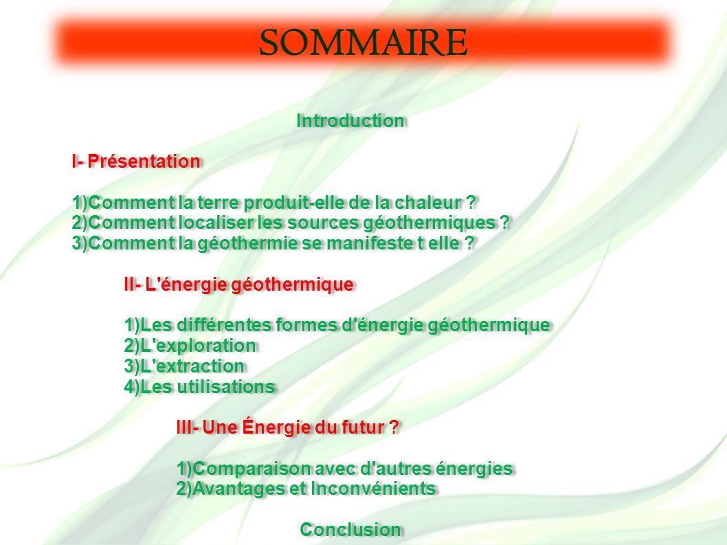 SOMMAIRE Introduction I- Présentation