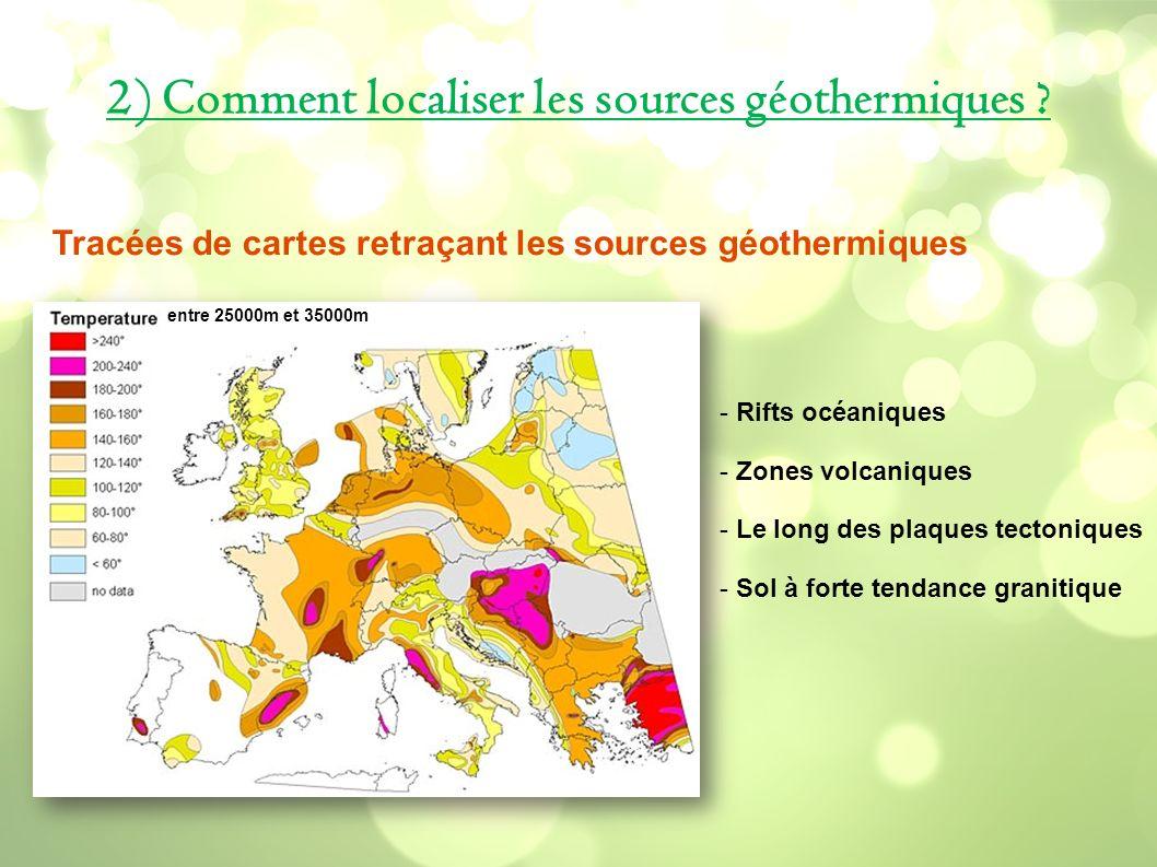 2) Comment localiser les sources géothermiques