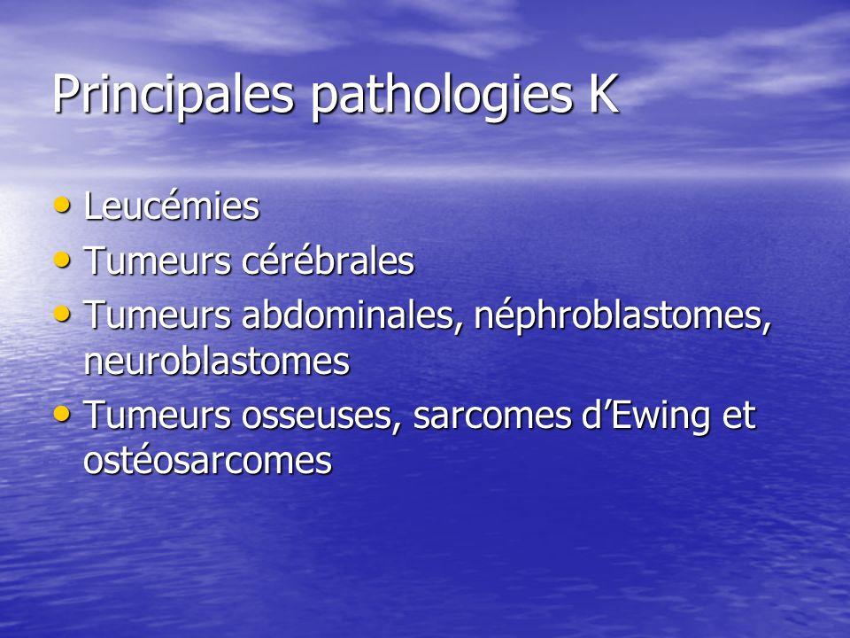 Principales pathologies K