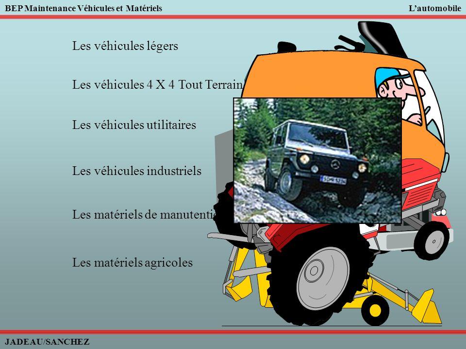 Les véhicules légers Les véhicules 4 X 4 Tout Terrain. Les véhicules utilitaires. Les véhicules industriels.