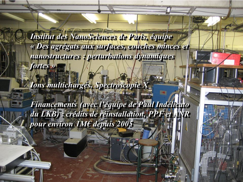 Institut des NanoSciences de Paris, équipe
