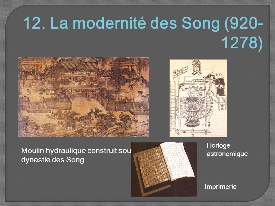 12. La modernité des Song (920-1278)