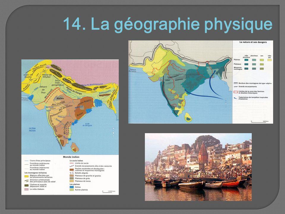 14. La géographie physique