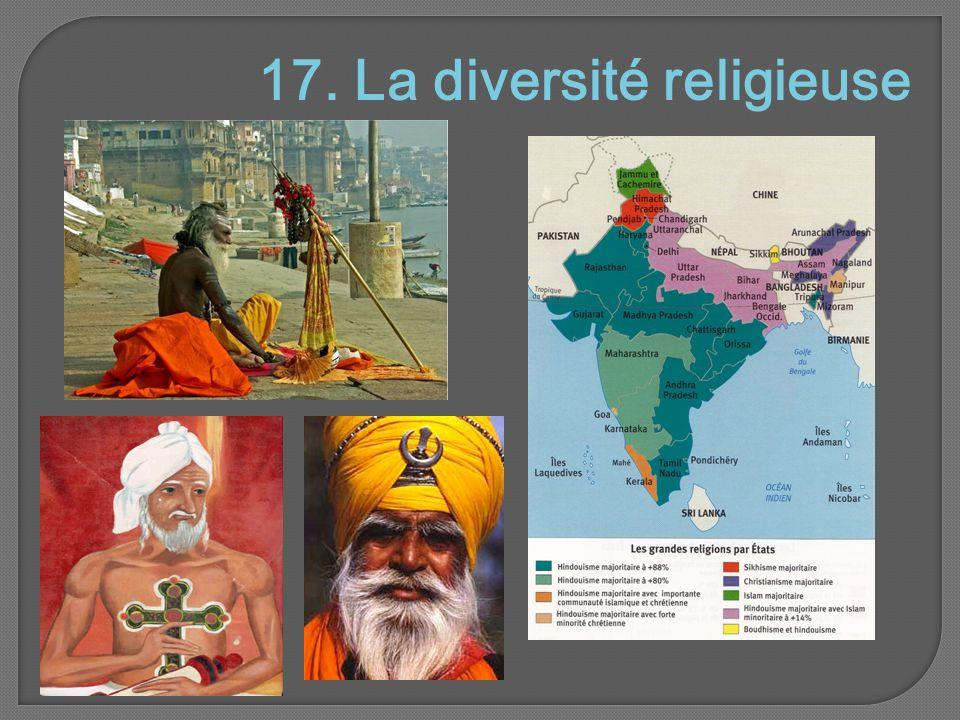 17. La diversité religieuse