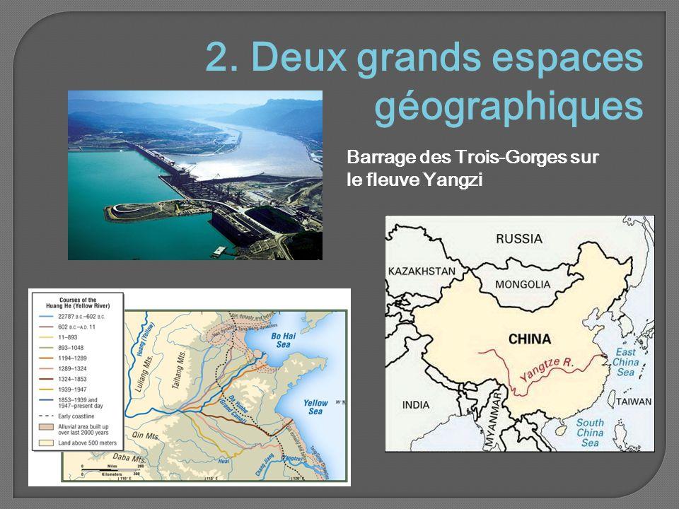2. Deux grands espaces géographiques