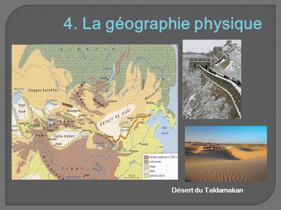 4. La géographie physique