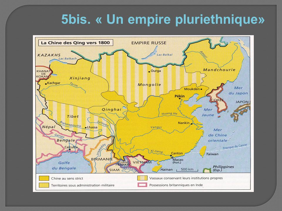 5bis. « Un empire pluriethnique»