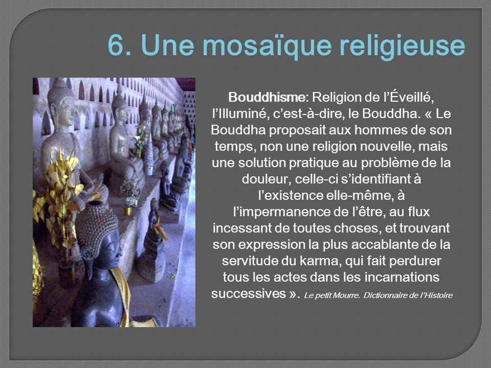 6. Une mosaïque religieuse