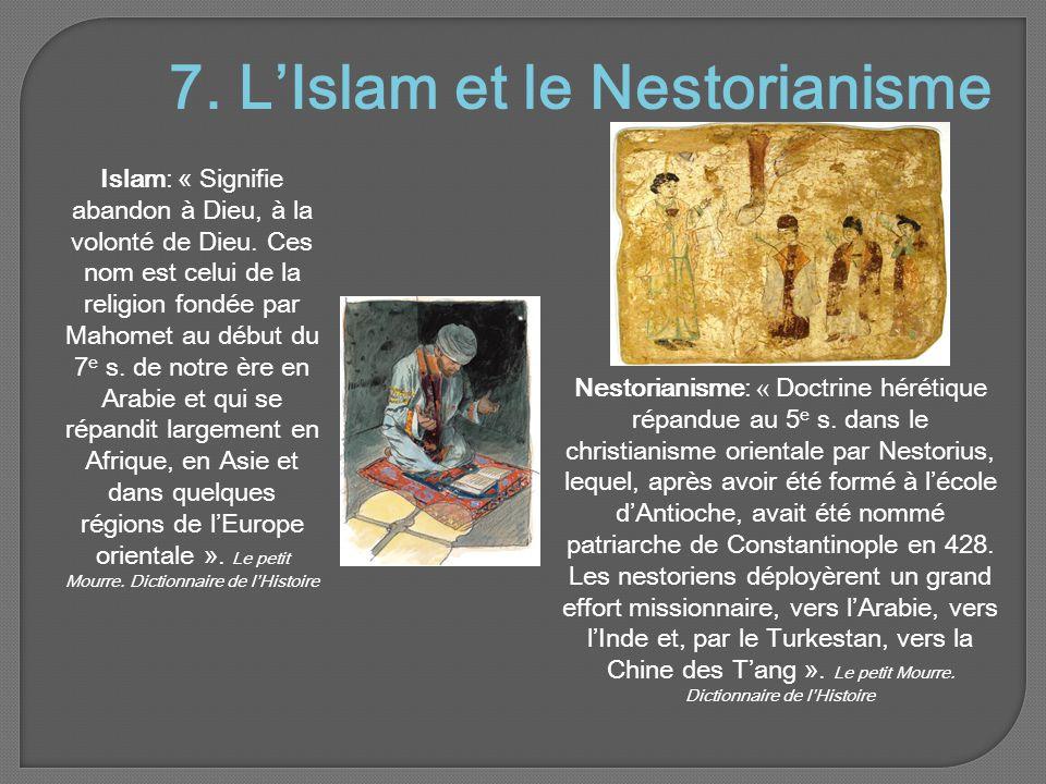 7. L'Islam et le Nestorianisme