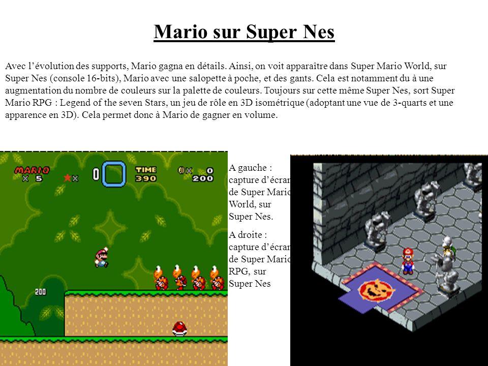 Mario sur Super Nes