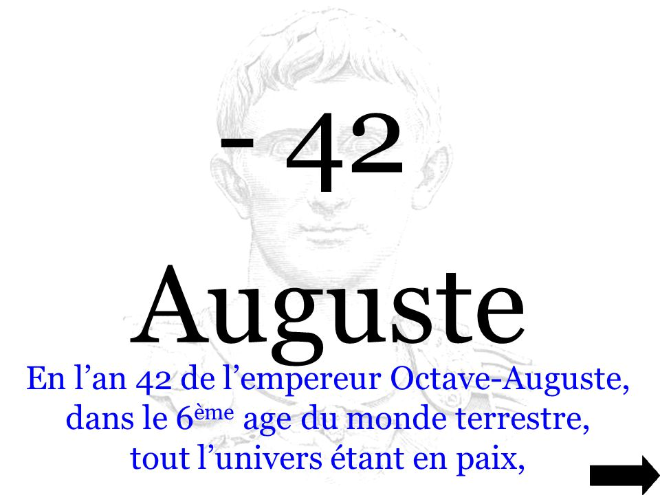 - 42 Auguste.