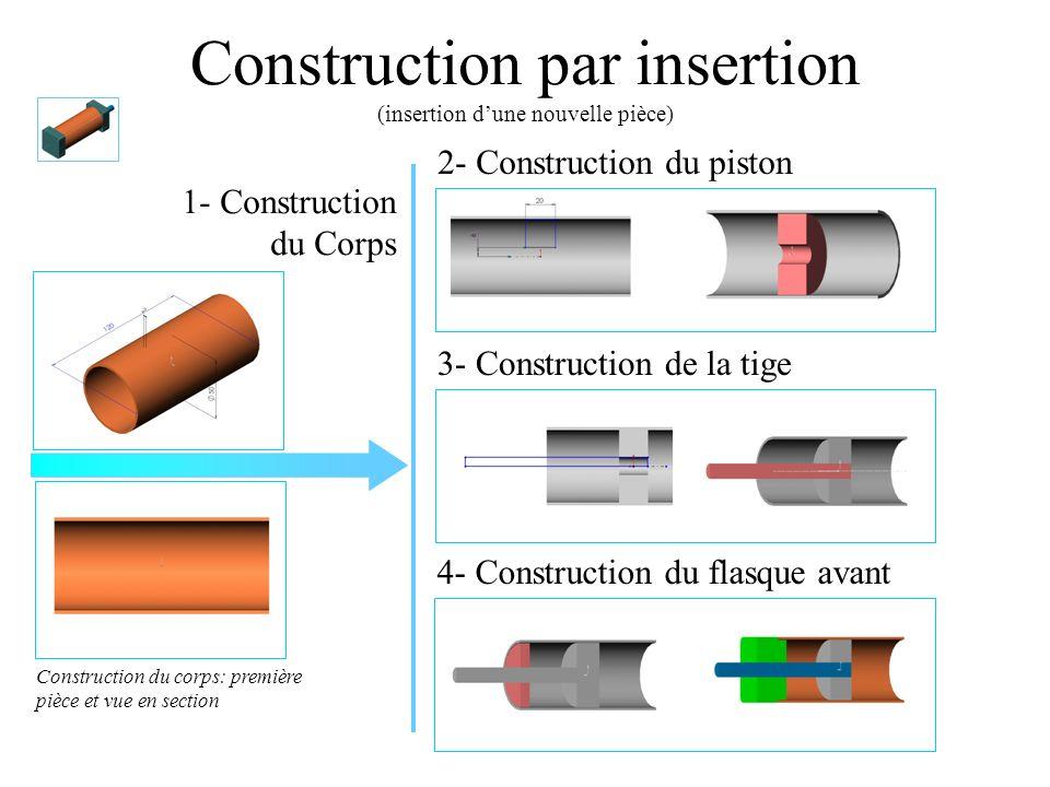 Construction par insertion (insertion d'une nouvelle pièce)