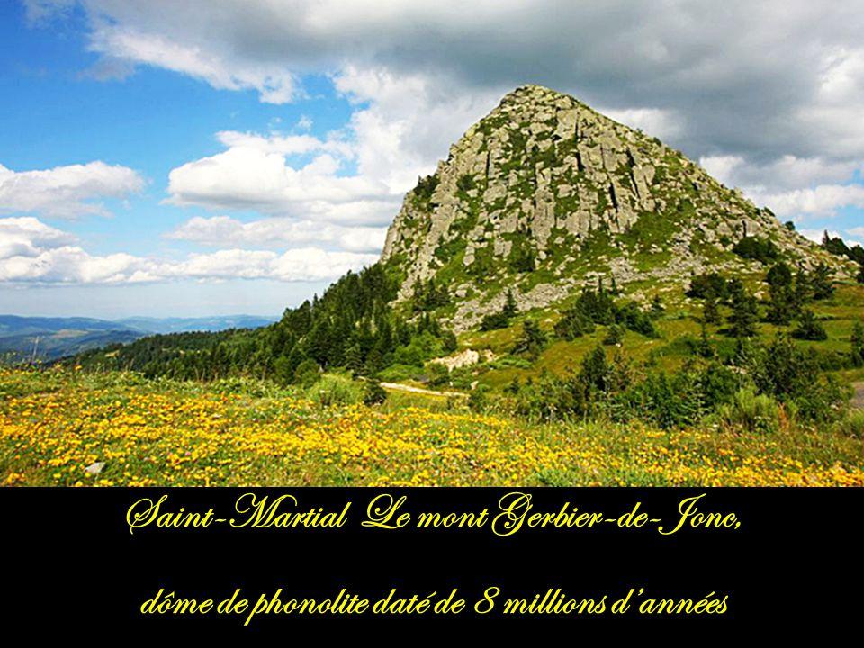 Saint-Martial Le mont Gerbier-de-Jonc,