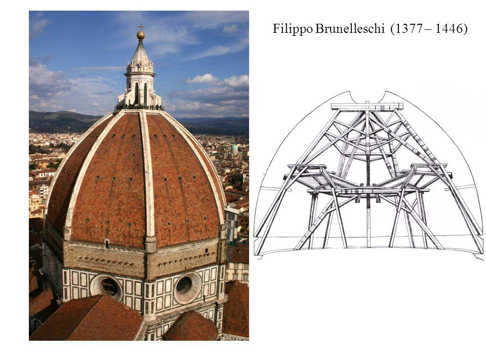 Filippo Brunelleschi (1377 – 1446)