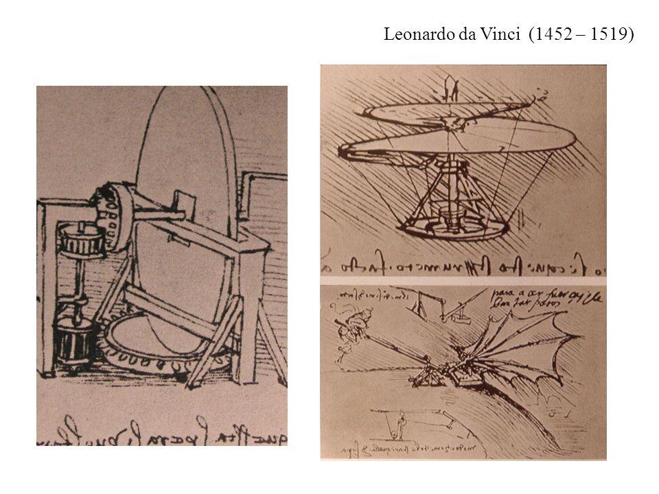 Leonardo da Vinci (1452 – 1519)