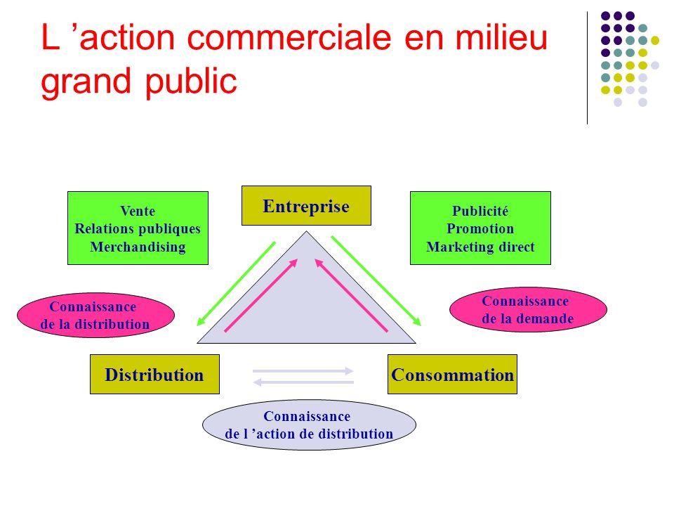 L 'action commerciale en milieu grand public